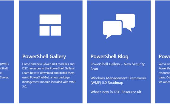新版的PowerShell官方主页